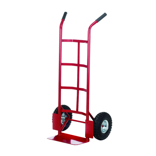 Pneumatic Tyre Sack Truck Red PTST