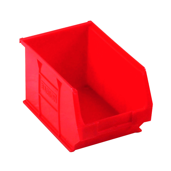 Barton Red Small Parts Container 4.6 Litre (10 Pack) 10032