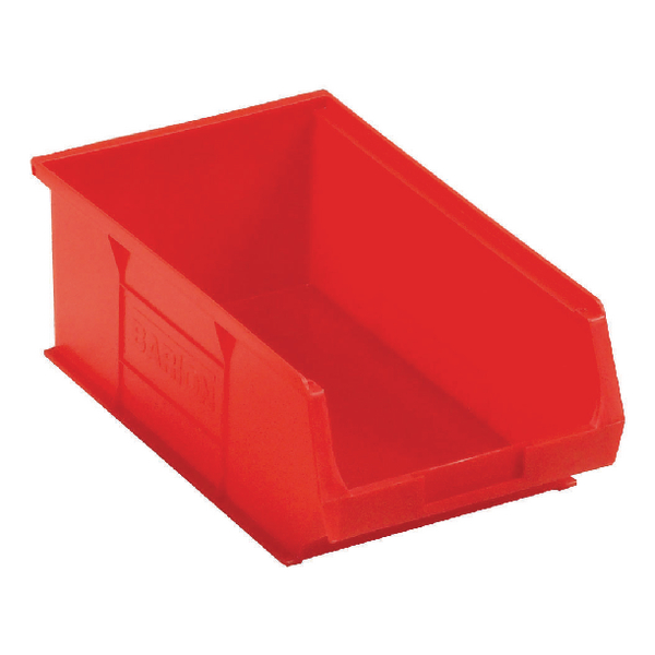 Barton Red Small Parts Container 9.8 Litre (10 Pack) 10042