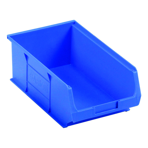 Barton Blue Small Parts Container 9.8 Litre (10 Pack) 10041