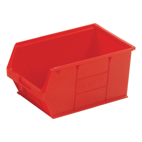 Barton Red Small Parts Container 12.8 Litre (10 Pack) 10052