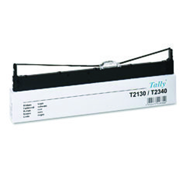 Tally T2130 Black Fabric Ribbon 044830