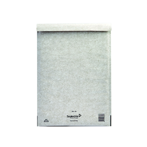 Mail Lite Plus Size J/6 300 x 440mm Oyster White Bubble Bag (50 Pack) MLPJ/6