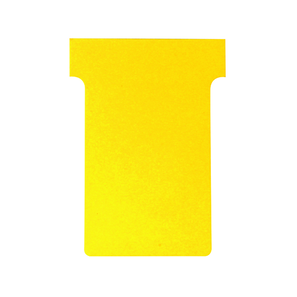 Nobo Size 3 Yellow T-Card (100 Pack) 32938915