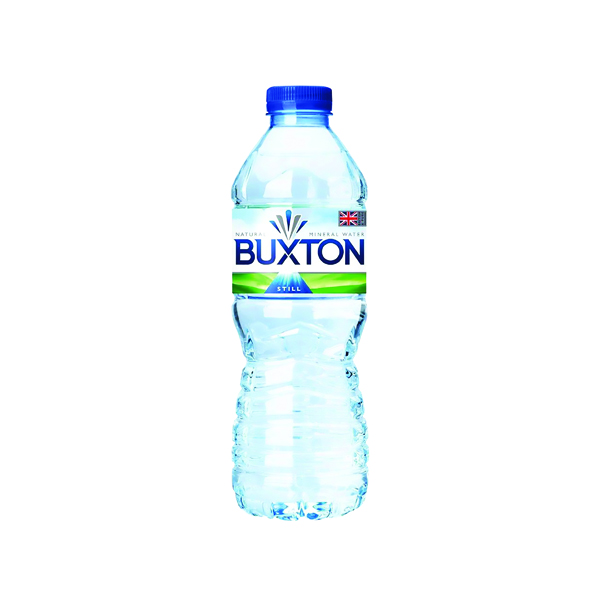 Buxton Still Mineral Water 50cl Plastic Bottles (24 Pack) 12020200