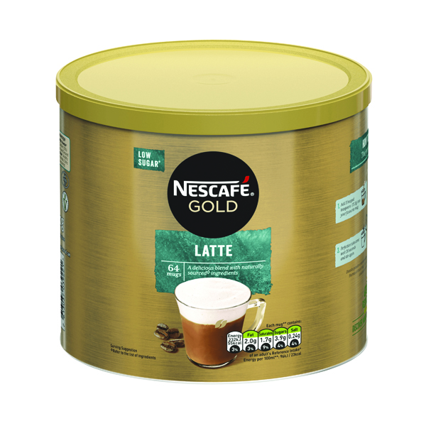 Nescafe Gold Instant Latte Sweetened 1kg 12314885