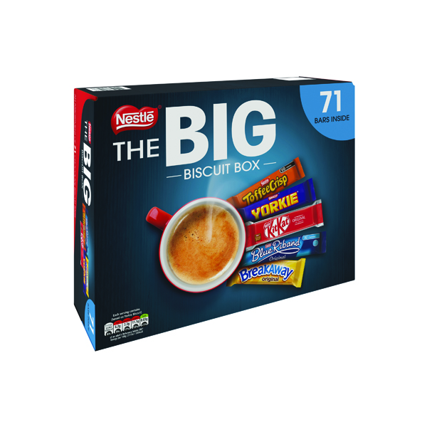 Nestle Big Biscuit Box 70 Bars 12313923