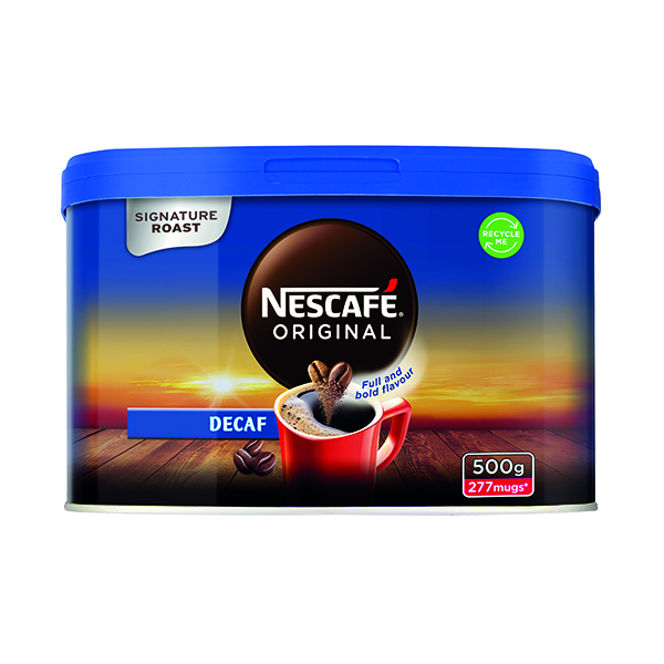 Nescafe Original Decaffeinated Instant Coffee 500g 12315569