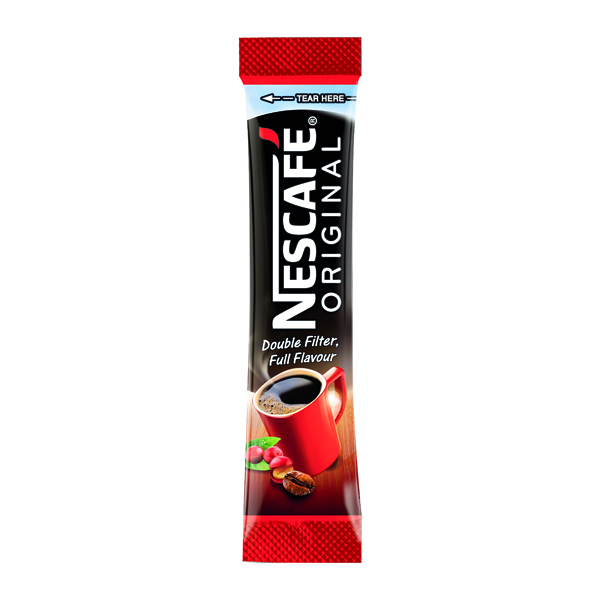 Nescafe Original One Cup Sticks Coffee Sachets (200 Pack) 12165415