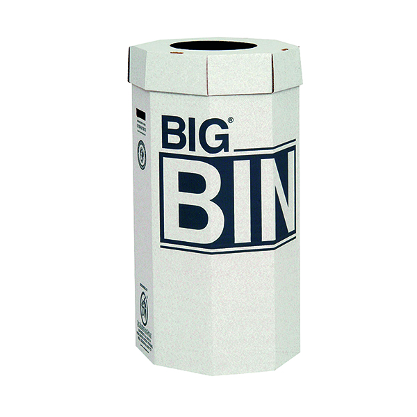 Acorn Green Big Recycling Bin 160 Litre (5 Pack) 142958
