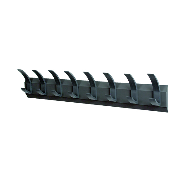 Acorn Wall Mounted Coat Rack With 8 Hooks NW620582