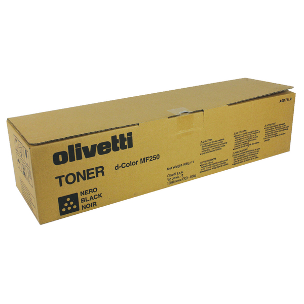 Olivetti Black B0727 Toner Cartridge
