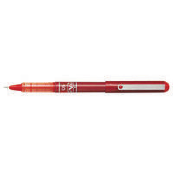 Pilot V-Ball Rollerball Pen Needle Fine Red (12 Pack) BLVB5-02