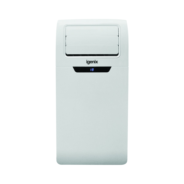 Igenix 9000 BTU Portable Air Conditioner Dehumidifier White IG9901