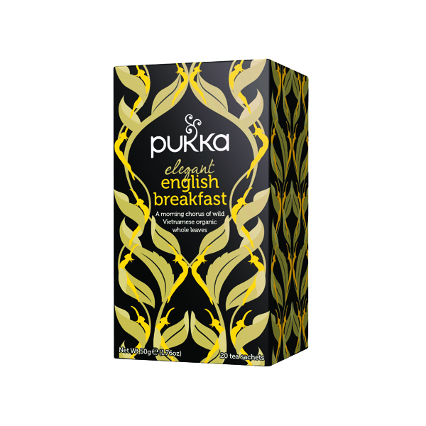Pukka Elegant English Breakfast Fairtrade Tea (20 Pack) P5050