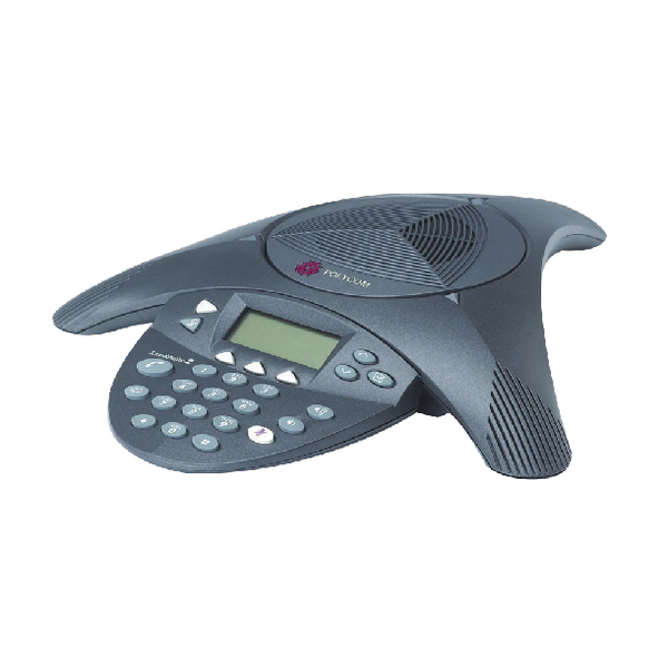 Polycom SoundStation2 EX Expandable Conference Phone 2200-16200-102