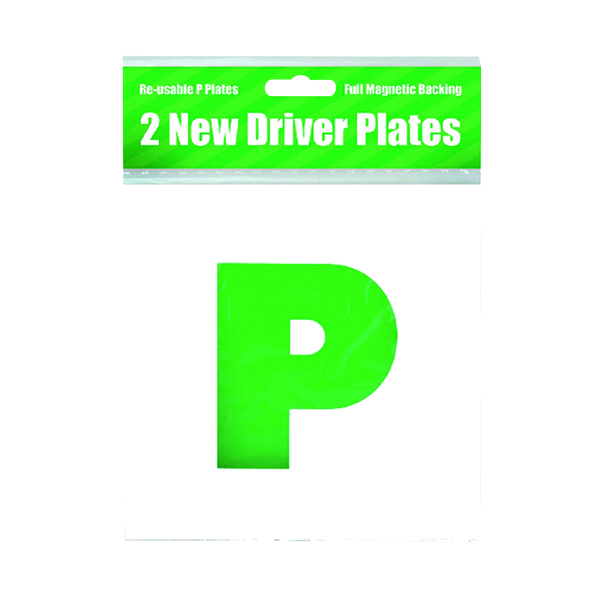 2 Magnetic P Plates (10 Pack) C399