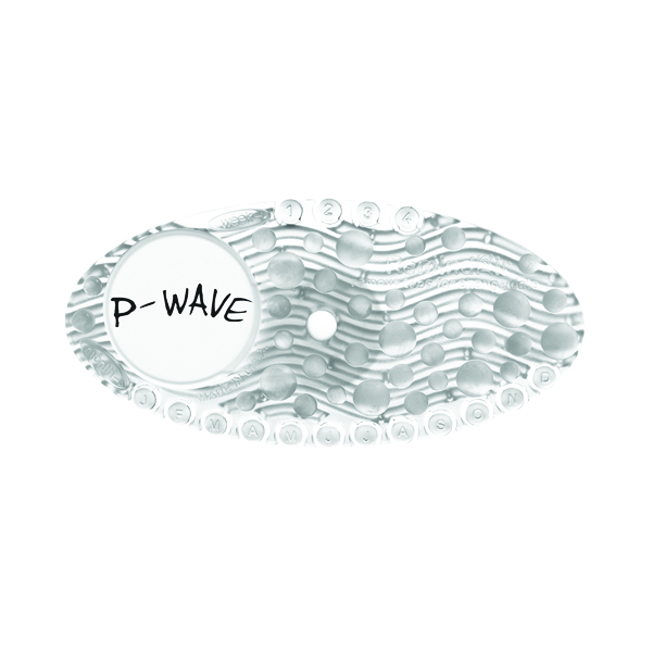 P-Wave Curve Clear Mango (10 Pack) WZCV60MG