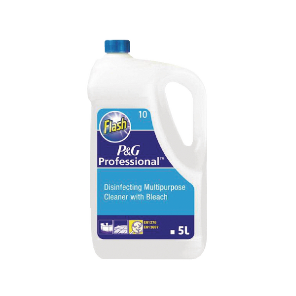 Flash Floor Cleaner With Bleach 5 Litre 5410076091980