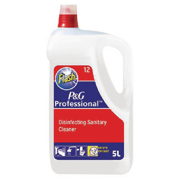 Flash Disinfecting Sanitary Cleaner 5 Litre 4015600554866