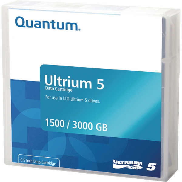 Quantum LTO-5 Ultrium Data Cartridge 1.5TB/3TB MR-L5MQN-01