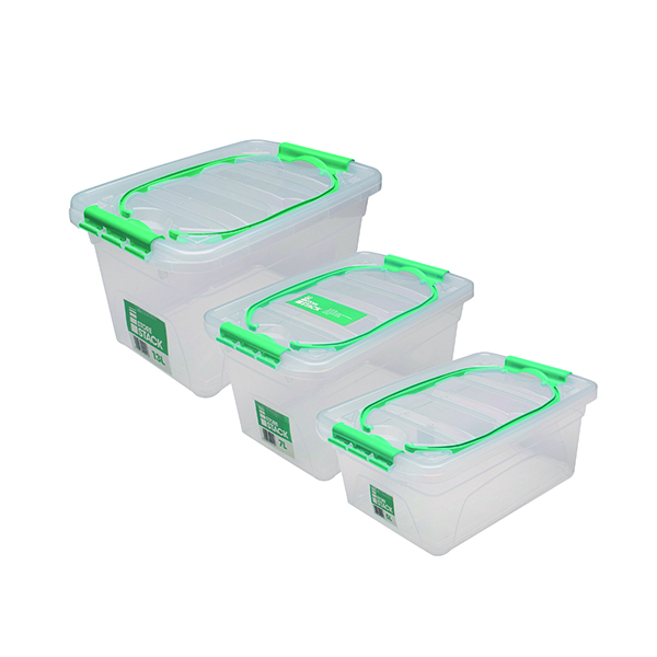 StoreStack Carry Box Set of Multiple Sizes (3 Pack) RB01033