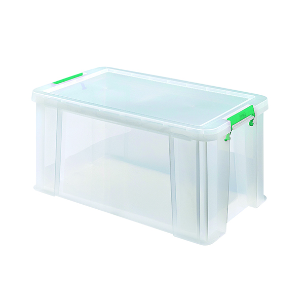 StoreStack 54 Litre Clear W640xD380xH310mm Store Box RB77234