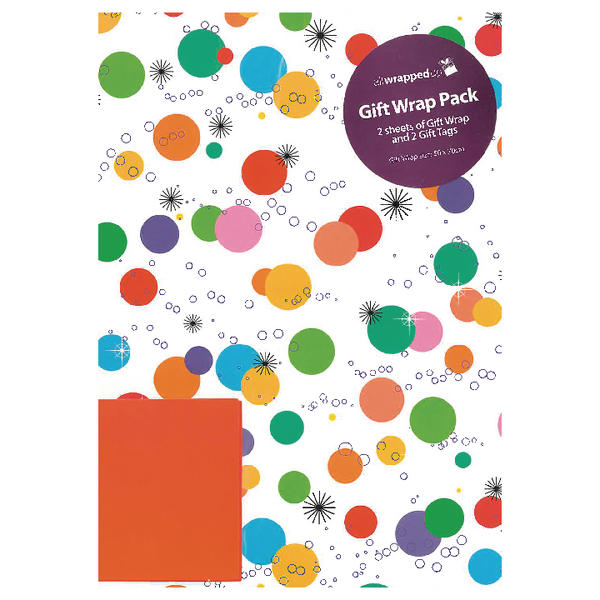 Packaged Wrap Bright Spots (12 Pack) F332