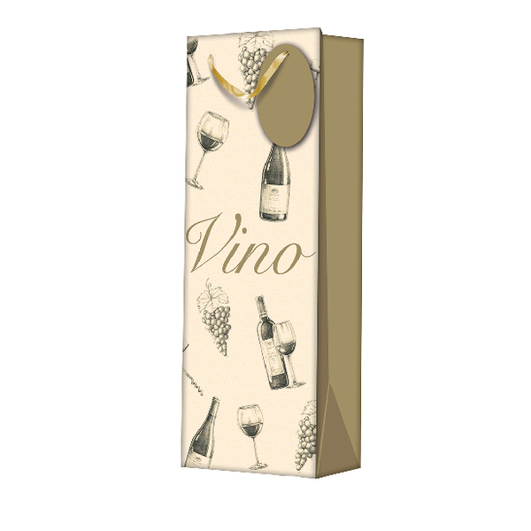 Vino Gift Bag Bottle (6 Pack) Z704B
