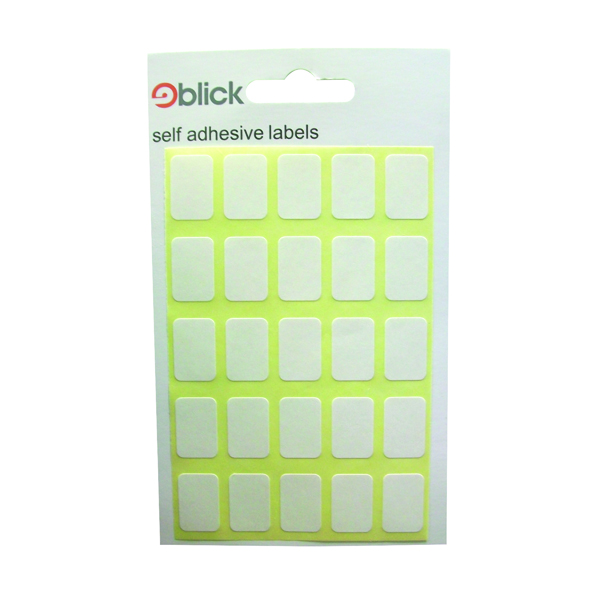 Blick White 12x18mm Labels (3500 Pack) RS002758
