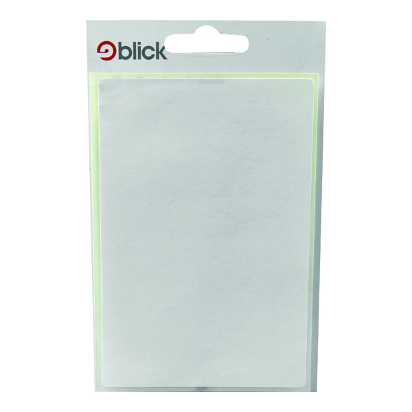 Blick White 80x120mm Labels (140 Pack) RS004059