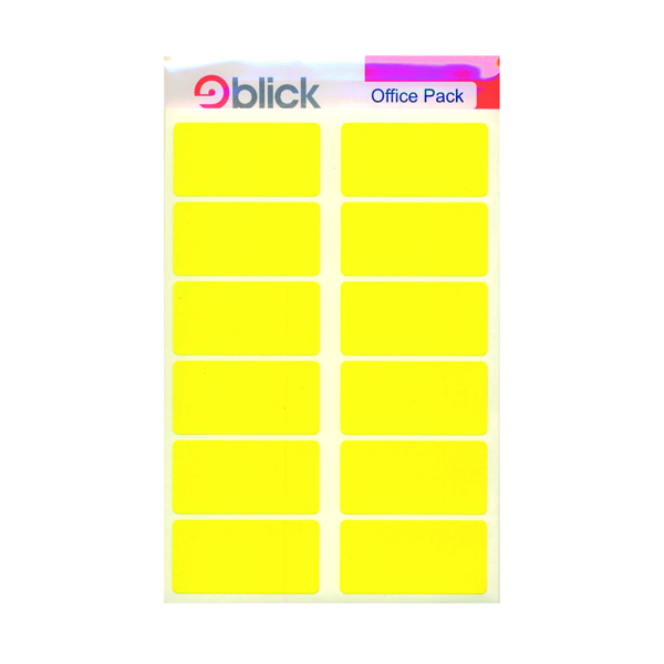 Blick Yellow Labels in Office Packs (320 Pack) RS020158