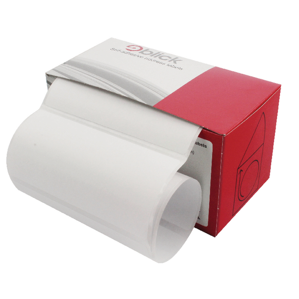 Blick Address Label Roll of 120 50x102mm TD50102 RS221753