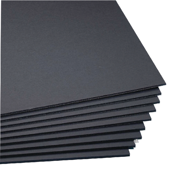 West Design Black A1 Foamboard 5mm (10 Pack) WF7001
