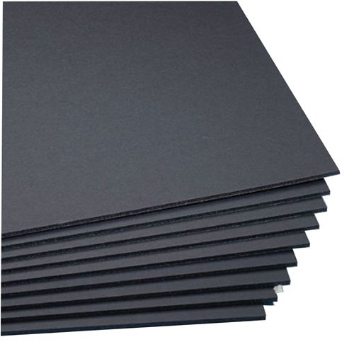 West Design Black A2 5mm Foamboard (Pack of 20) WF7002
