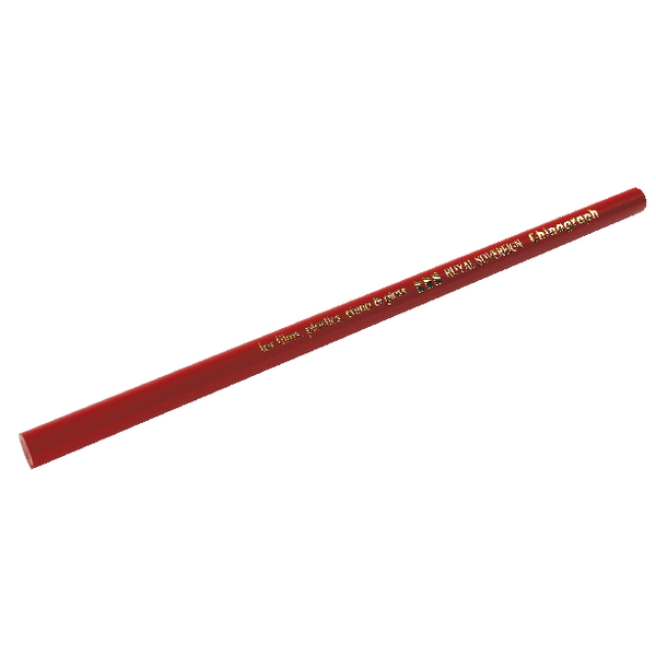 Royal Sovereign Red Chinagraph Marking Pencils (12 Pack) RS527855
