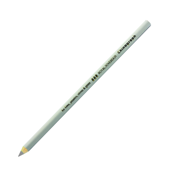 Royal Sovereign White Chinagraph Marking Pencil (12 Pack) RS523055