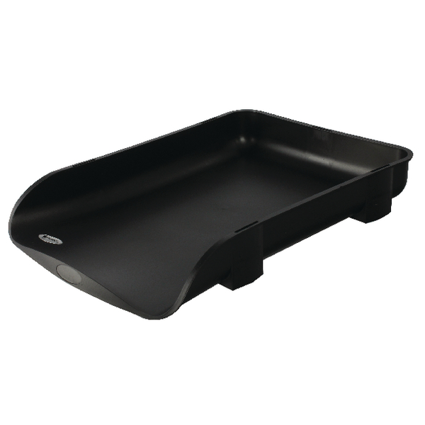 Rexel 55mm Charcoal Agenda2 In-Out Tray 2101016