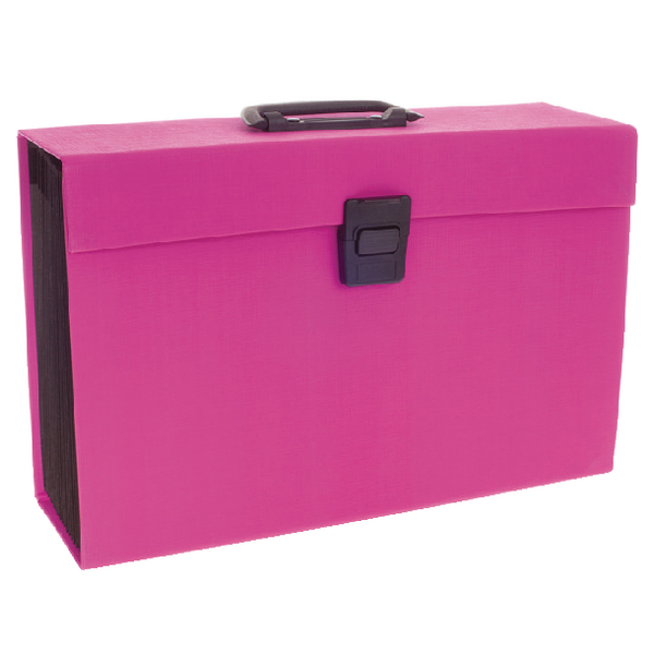 Rexel JOY Pink Expanding Box File 2104018