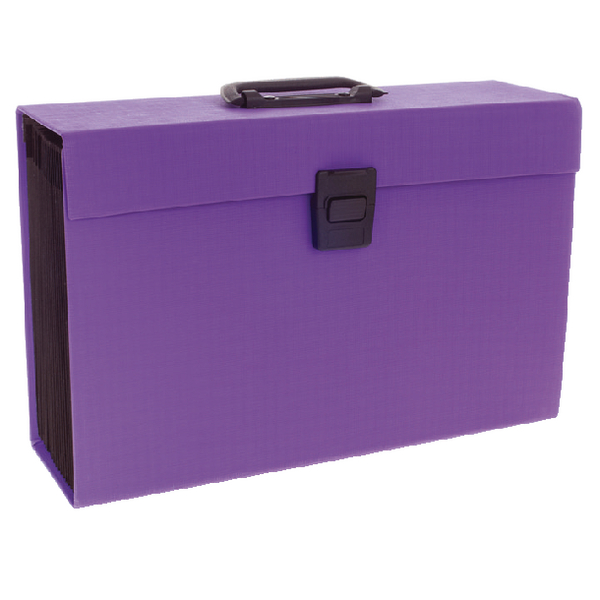 Rexel JOY Perfect Purple Expanding Box File 2104020