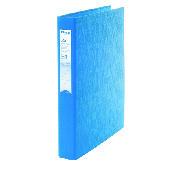 Rexel Joy A4 Blue Ring Binder (6 Pack) 2104003