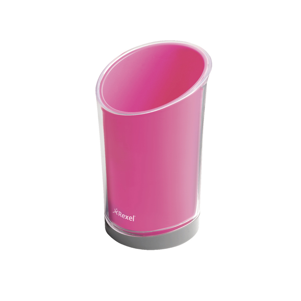Rexel Joy Pretty Pink Pen Cup 2104028