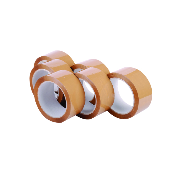 Polypropylene Packaging Tape 48mm x 66m Brown (6 Pack) 7671