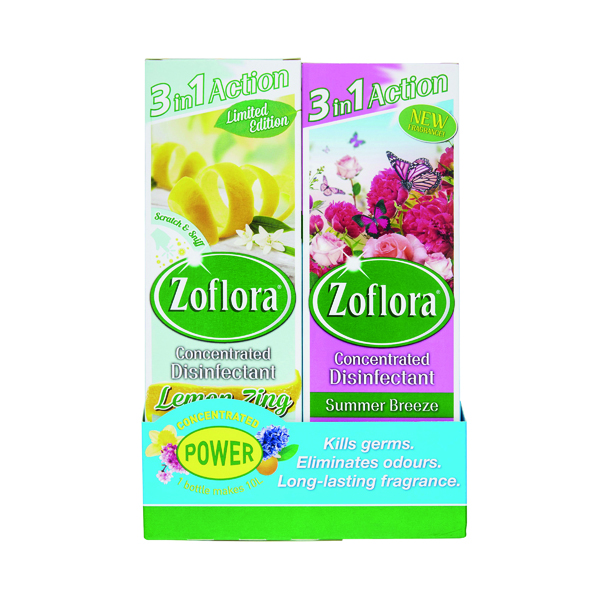Zoflora 3-in-1 Concentrated Disinfectant 250ml (8 Pack) 20220