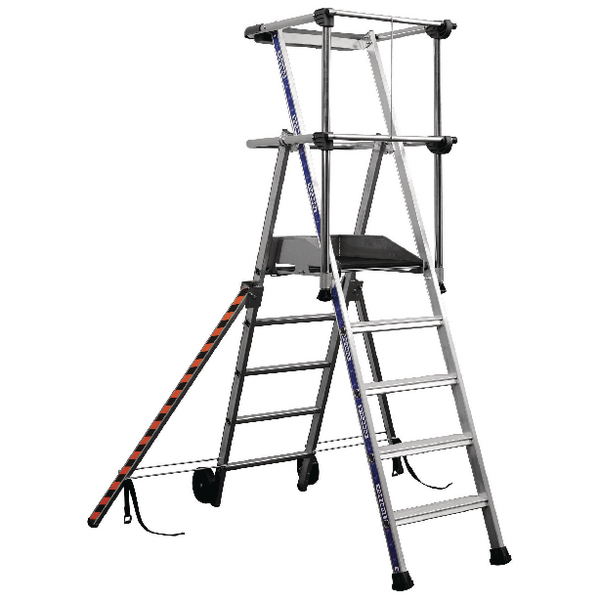 3 Tread Silver Work Platform 307569
