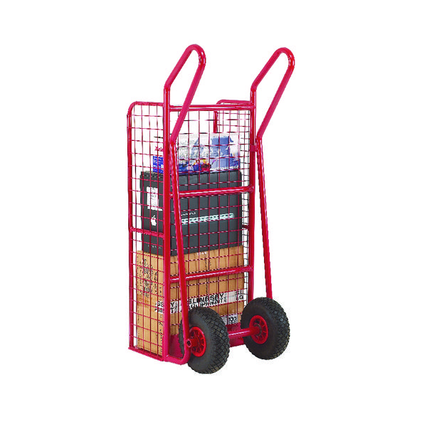 Hand Truck Heavy Duty Mesh Red 309042