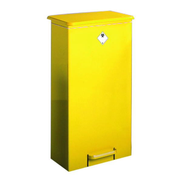 Fixed Body Fire Retardant Sack Holder Free standing 64 Litre 316138