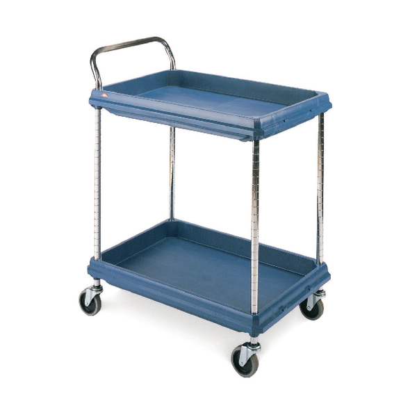 Deep Ledge Trolley 2 Tier Blue H1041 x W832 x D546mm 322442