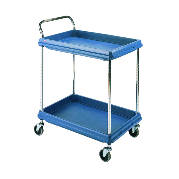 Deep Ledge 2 Tier Blue H1041x W984xD689mm Trolley 322448
