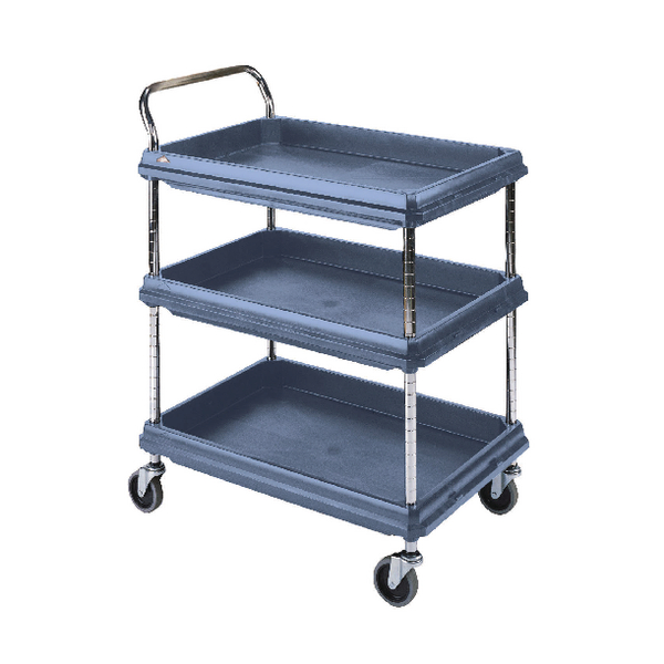 Deep Ledge 3 Tier Blue H1041x W984xD689mm Trolley 322451